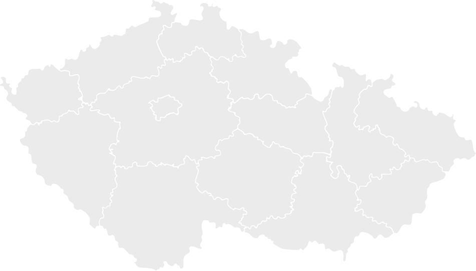 Mapa ČR